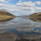 Clouds, reflected by ClaireWroe