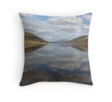 Clouds, reflected Throw Pillow