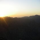 Sunset from Mt Sinai by embrumby