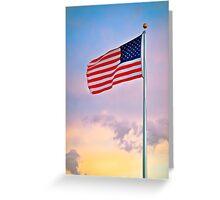 American Patriot Greeting Card