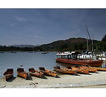Windermere Boats Photographic Print