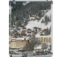 Swiss Winter Village Scene iPad Case/Skin