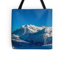 Faulhorn Winter Scene Tote Bag
