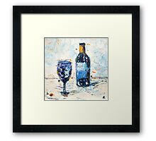 Glass of Wine Framed Print