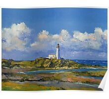 Turnberry Lighthouse Poster