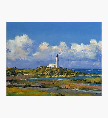 Turnberry Lighthouse Photographic Print