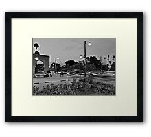 Rush hour traffic of Avenue Mohammed 5th Framed Print