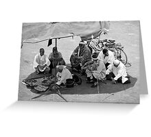 Snake Charmers of Jemaa El Fna Greeting Card