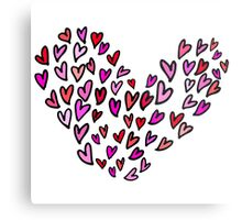 hearts on hearts in hearts Metal Print
