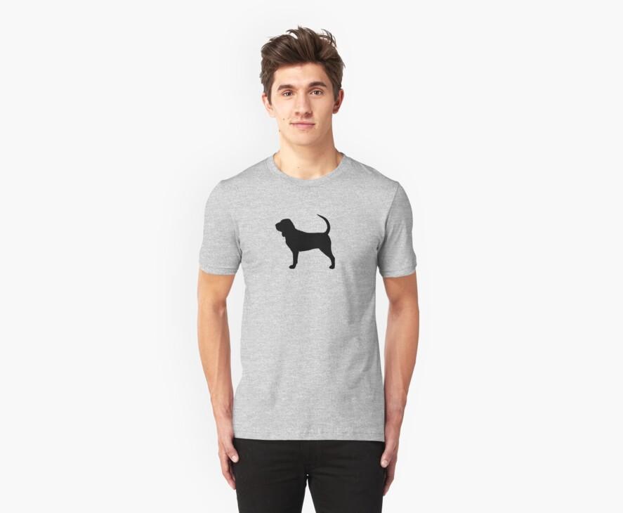 Bloodhound Silhouette by Jenn Inashvili