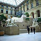 Louvre Museum by Daniel Chang