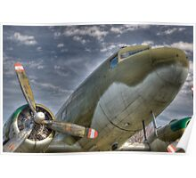DC-3 Dakota Poster