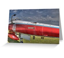 CF-5 Freedom Fighter Greeting Card