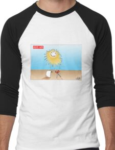 Rock God Men's Baseball ¾ T-Shirt
