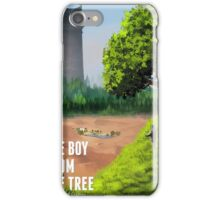 The Boy From the Tree. iPhone Case/Skin