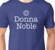 Copyright Donna Noble - Tardis Blue Unisex T-Shirt