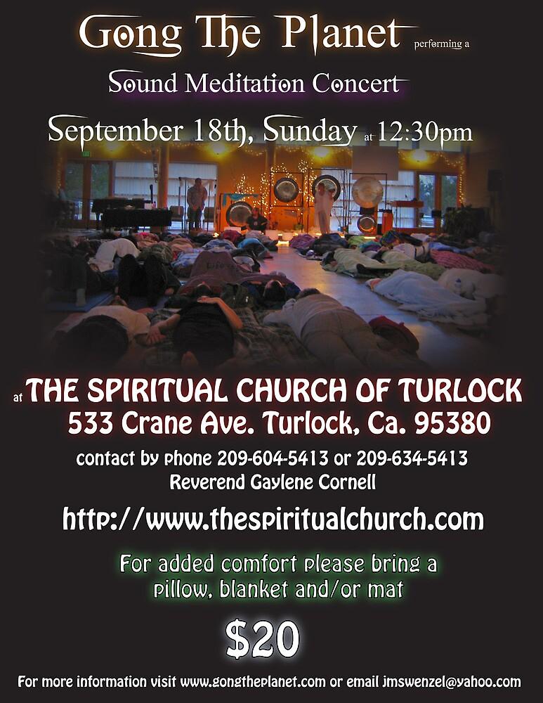 turlock spritual church flier by GongThePlanet