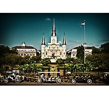 Jackson Square, New Orleans Photographic Print
