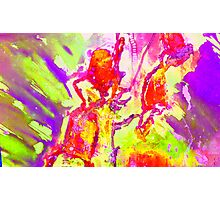 Abstract Snapdragon flower Screen Print 2 Photographic Print