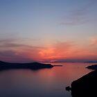 Santorini Serenity- Thira, Santorini by Ben Prewett