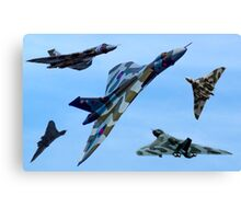 XH558 Tribute Final Season 2015 Canvas Print