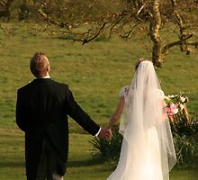 Newlyweds by malinakphoto