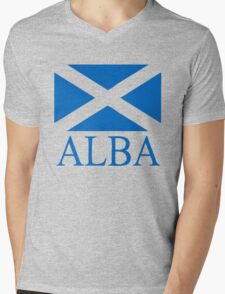 Alba (Scotland) Mens V-Neck T-Shirt