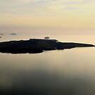 Santorini Reflections - Thira, Santorini by Ben Prewett