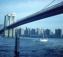 Brooklyn Bridge, New York City by Alberto  DeJesus
