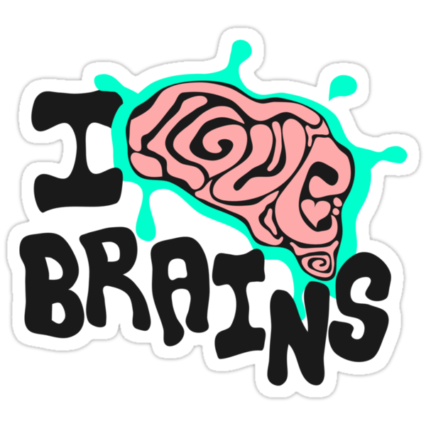 I love Brains by Anna Beswick