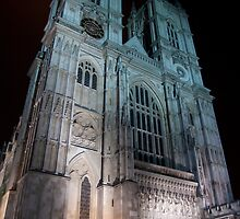 Westminster Abbey - by Night by Jiggy Creationz