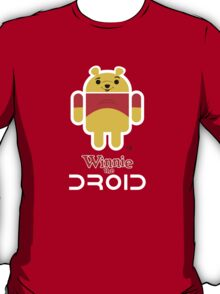 Winnie the Droid (text) T-Shirt