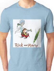 Rick and Morty Calvin and Hobbes Unisex T-Shirt
