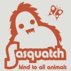 Sasquatch - kind to all animals by jaymoysey