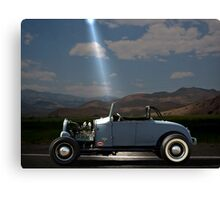 """Area 51""  1930's Roadster Canvas Print"