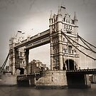London Tower Bridge by Llawphotography