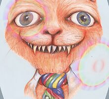 The Cheshire Cat 2 by Helena Wilsen - Saunders