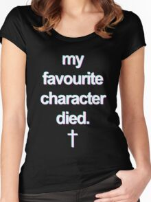 characters Women's Fitted Scoop T-Shirt
