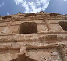 Amphitheatre in El Djem, Tunisia by Kez90