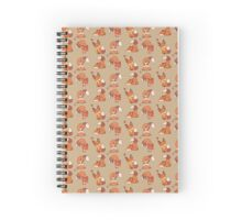 Tumble the Fox Spiral Notebook