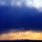 NYC Clouds  by Alberto  DeJesus