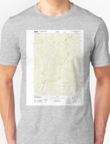 USGS Topo Map California Polar Bear Mountain 20120404 TM T-Shirt