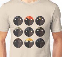 Hinagarasu Vector Patterns Unisex T-Shirt