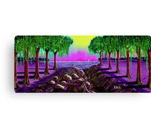 """Sail Into Cypress"" Canvas Print"