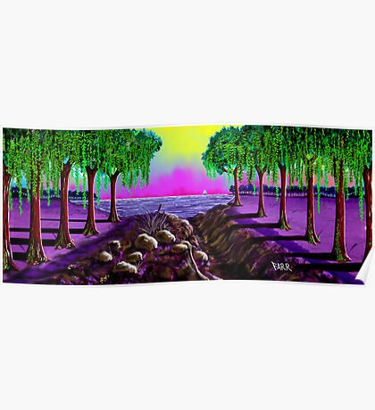 """Sail Into Cypress"" Poster"
