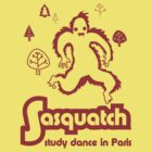 Sasquatch - studied dance in Paris by jaymoysey