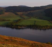 Ullswater Panorama by Martin Carr