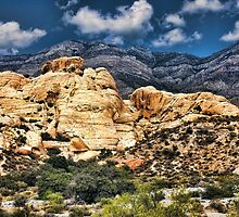 Colorful Hills in Red Rock Canyon by dbvirago