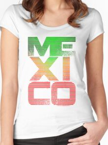 Mexico 2.0 Women's Fitted Scoop T-Shirt