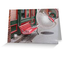 Chinatown Sphere Greeting Card